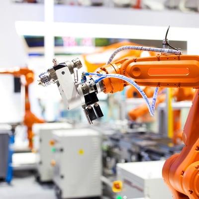 orange-robotic-arm