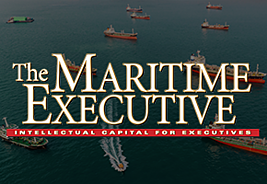 The Maritime Executive: Playing Catch-up with Cybersecurity cover