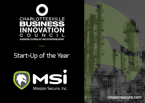 Mission Secure - 2019 Start-up of the Year