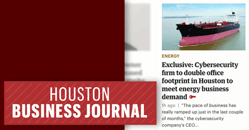 Mission Secure covered in Houston Business Journal Exclusive