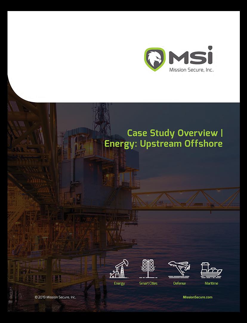 Case Study: Upstream Offshore Energy